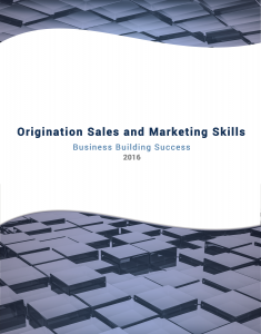 Origination Sales and Marketing Skills Cover
