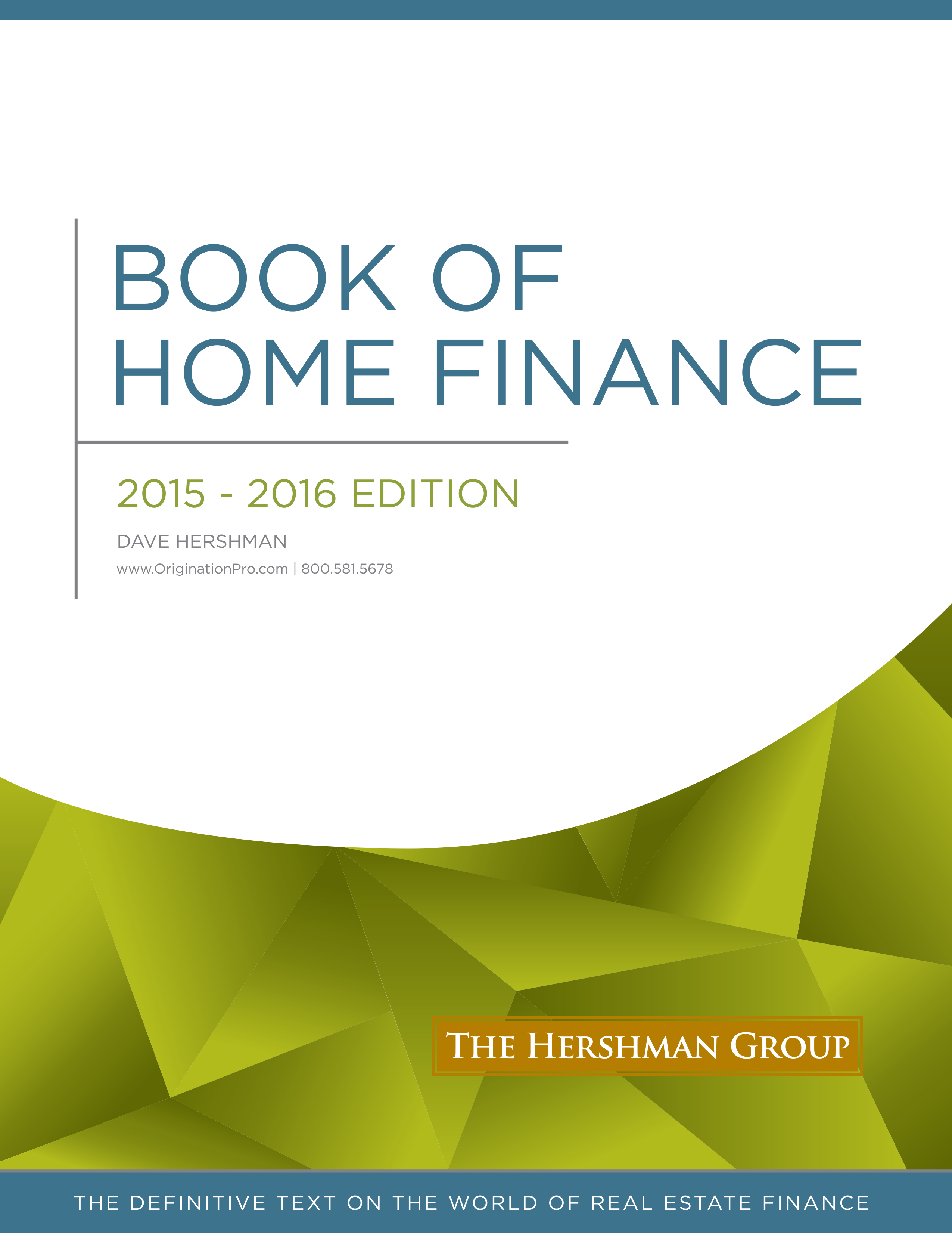 The Book of Home Finance