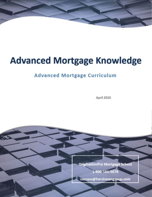 advanced mortgage knowledge